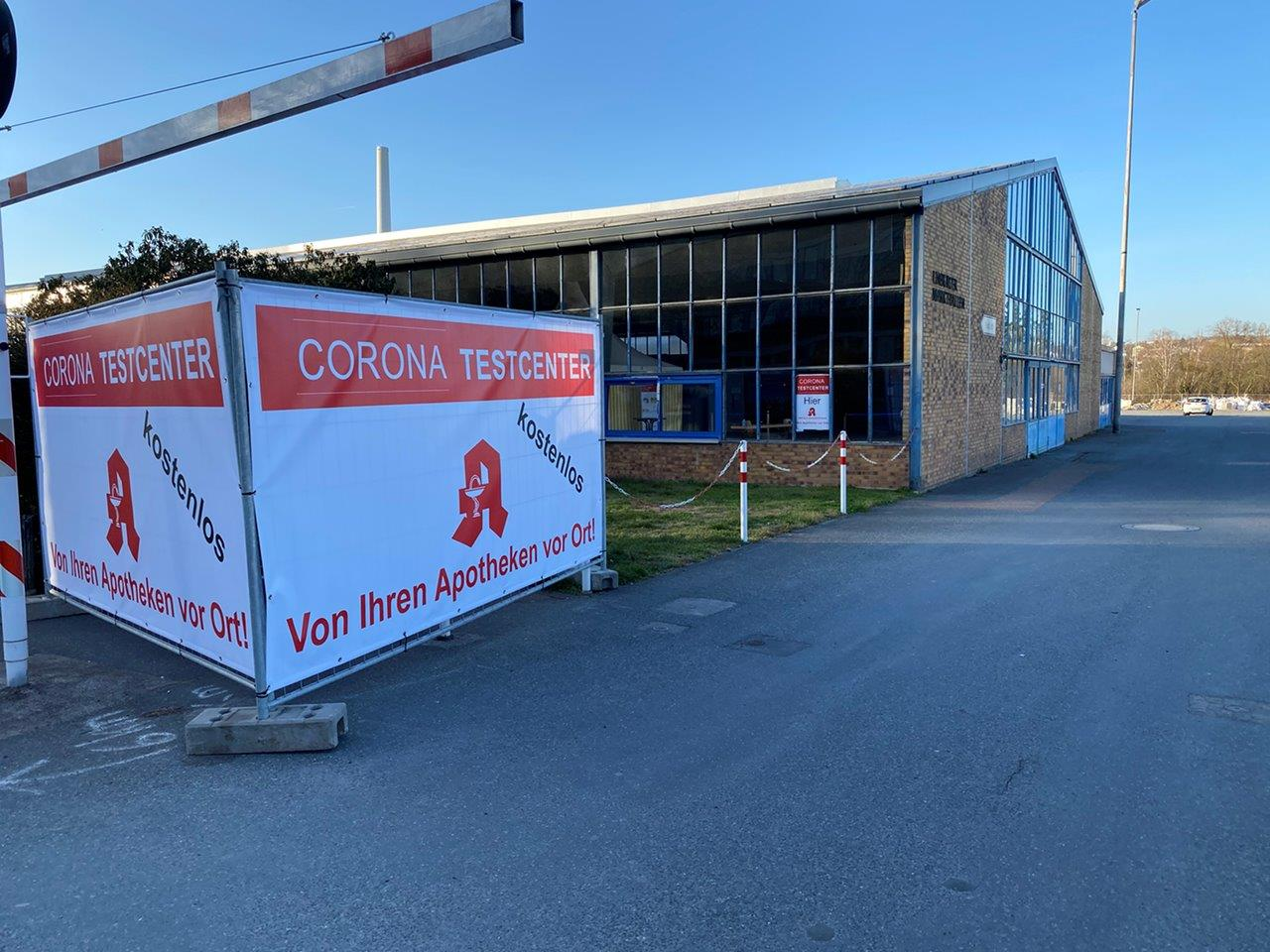Corona Testcenter (Markthalle Limburg)
