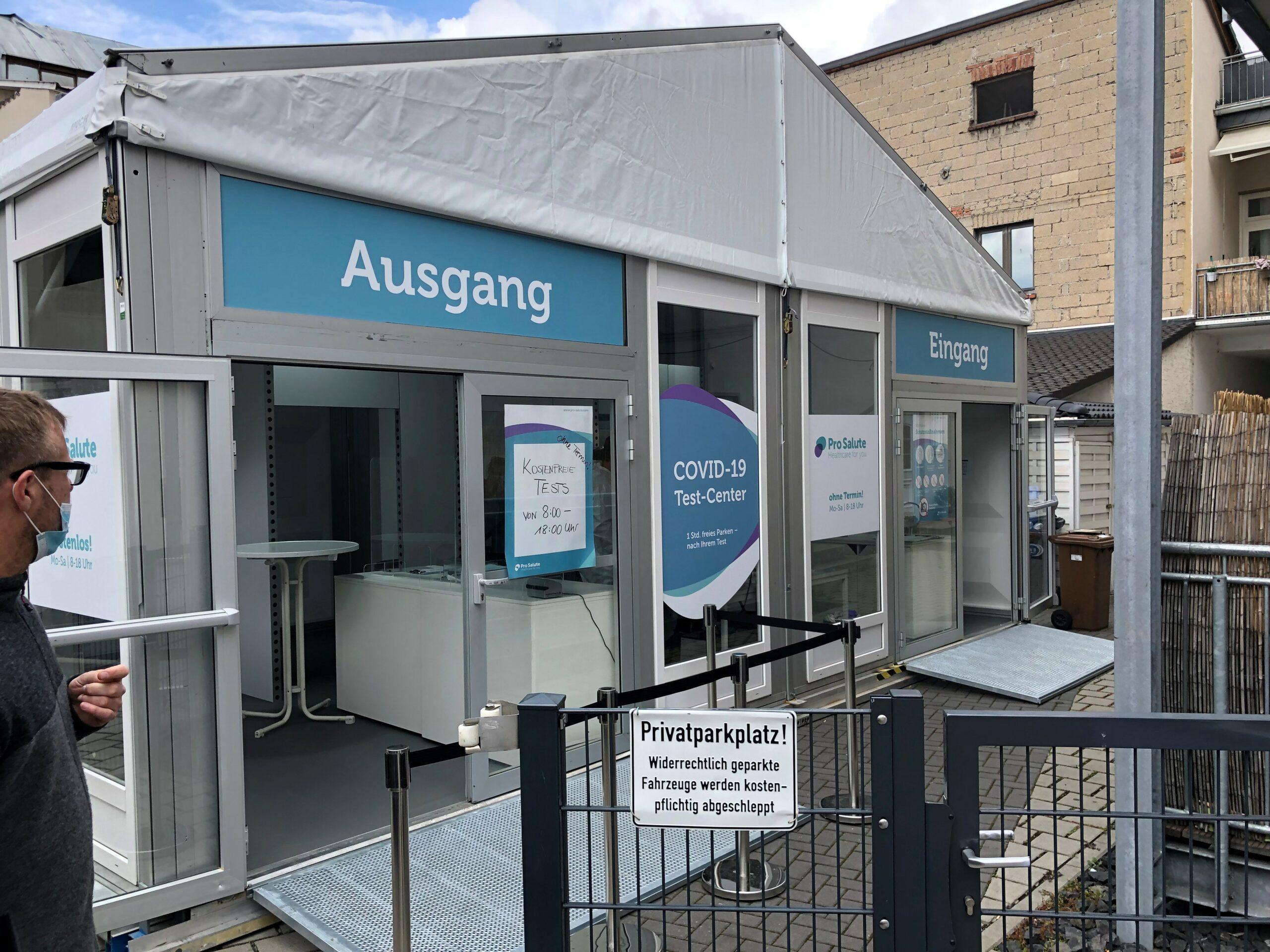 Teststation Limburg Mitte<br>(Parkhaus Mitte)